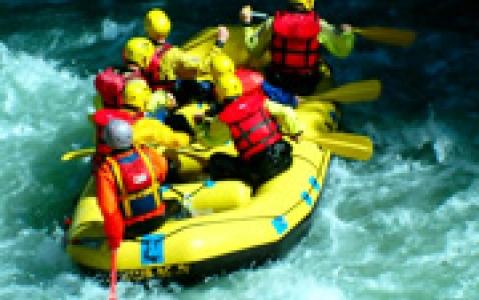 activity Rafting sur la rivière Elo