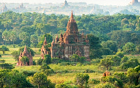 activity Survol du site de Bagan en montgolfière