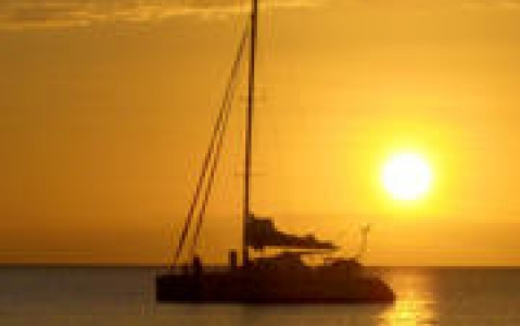 activity Coucher de soleil en voilier