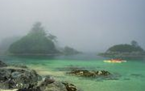 activity Kayak à Broken Group Island