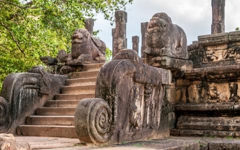 activity Visite de Polonnaruwa en vélo