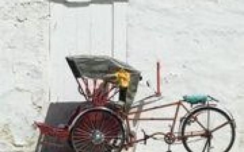 activity Rickshaw dans les rues de Penang