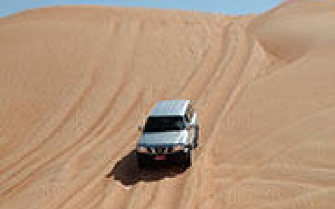 activity Le désert des Wahiba Sands en 4x4
