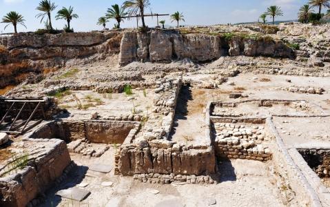 activity Visite des vestiges archéologiques de Megiddo