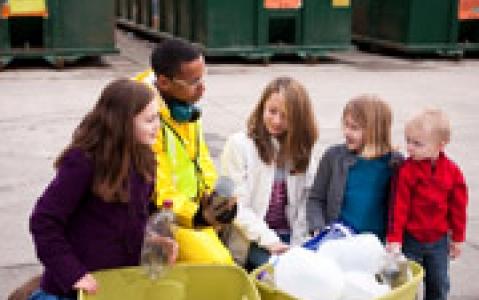 activity Visite des ateliers du recyclage à Arenal