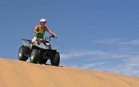 activity Une excursion en quad - Namibie