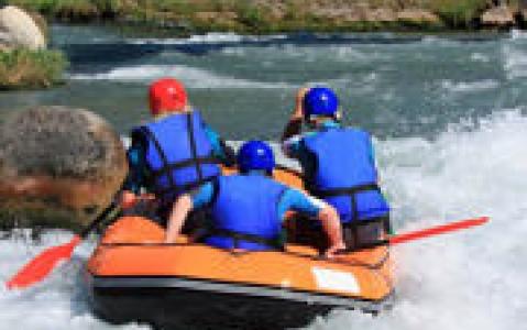 activity Rafting sur la Route des Cascades