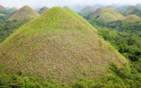 activity Les Chocolate Hills de Bohol