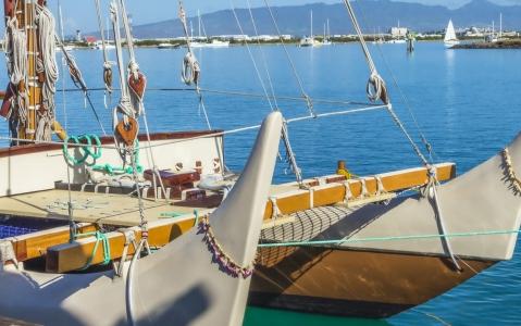activity Visite du musée de la marine à Bora Bora