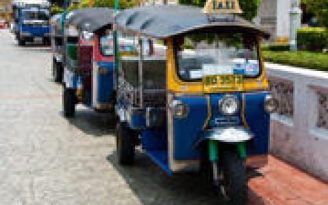 activity Ayutthaya en Tuk Tuk