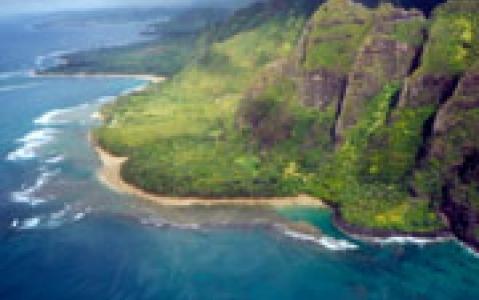 activity Survol en Hélicoptère de la Napali Coast