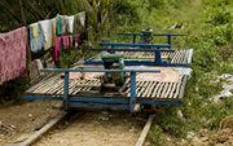 activity Expérience en bamboo train