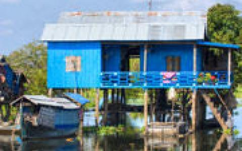 activity Visite du village de Kompong Phluk sur le lac Tonle Sap
