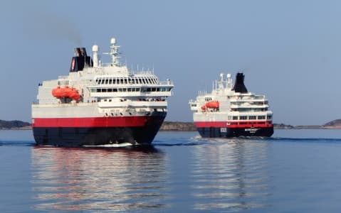 hotel Express côtier Hurtigruten (bateau)