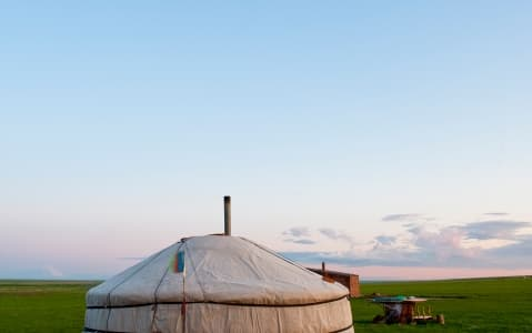 hotel Campement en yourte standard - Khongorin Els