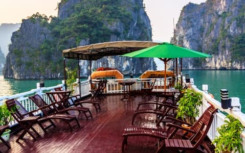 hotel Jonque Ginger - Baie d'Halong