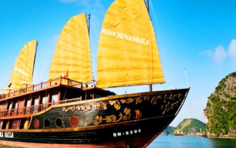 hotel Jonque Indochina Sails - Baie d'Halong