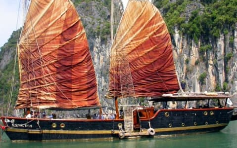 hotel Jonque Traditionnelle - Halong
