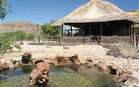 hotel Xaragu Camp - Twyfelfontein