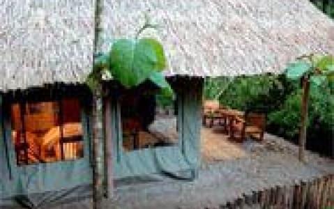 hotel Kamu lodge (tente) - Mékong