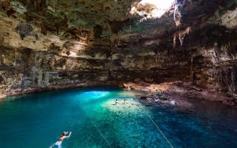 activity Cenote au Mexique