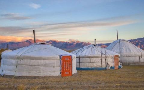 hotel Camp de yourtes - Nomades