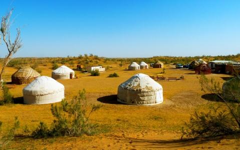 hotel Campement de Yourtes - Désert du Kyzil Koum