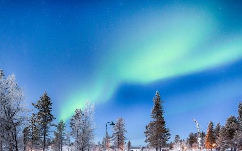activity A la recherche des aurores boréales