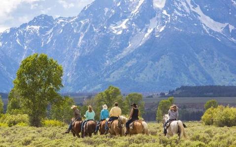 activity Balade à Cheval dans le Grand Teton National Park