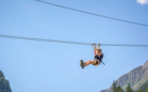 activity Parcours en tyrolienne