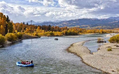 activity Rafting sur la Snake River