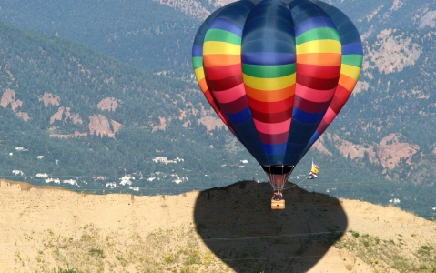 activity Survol en Montgolfière de Colorado Springs