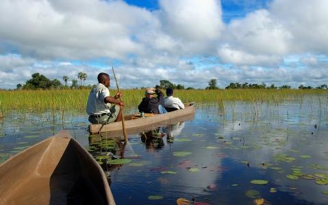 activity Canoé aux lacs Momella- Parc d'Arusha