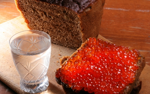 activity Dégustation de vodka et caviar rouge