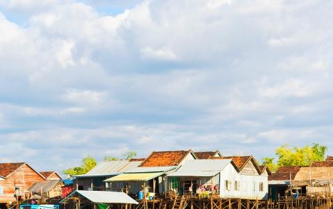 activity Kampong Khleang, un véritable village flottant