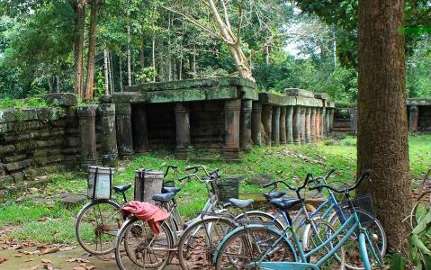 activity Le site d'Angkor à bicyclette