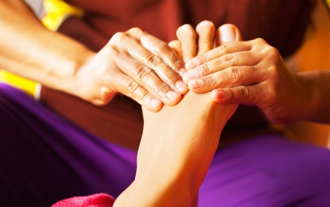 activity Massage des pieds