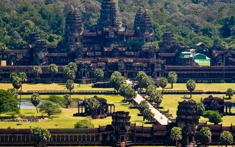 activity Survol du site d'Angkor en hélicoptère
