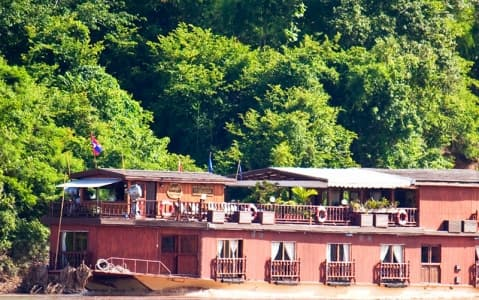 hotel Bateau Toum Tiou II - Remontée du Mékong