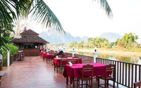 hotel The Elephant Crossing - Vang Vieng