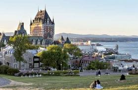 Visiter Québec ville et le saint laurent
