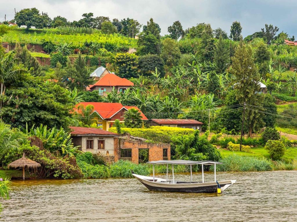 Randonnée le long du lac Kivu et conservation des gorilles