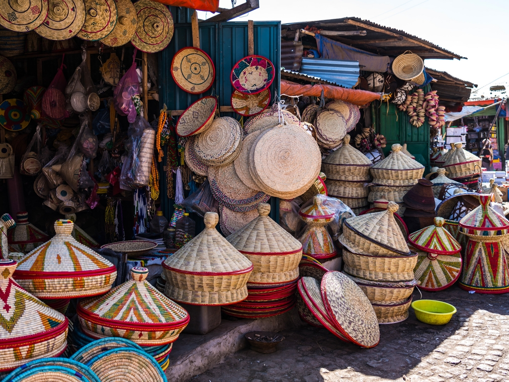 Visite d'Addis Abeba et son incroyable mercato.