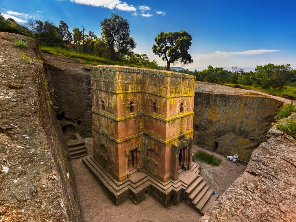 Au cœur des églises monolithiques de Lalibela