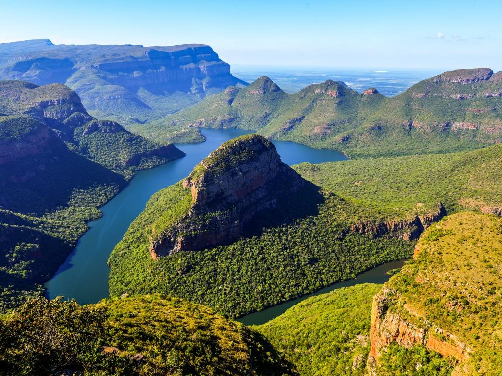 Spectaculaire canyon de la Blyde River