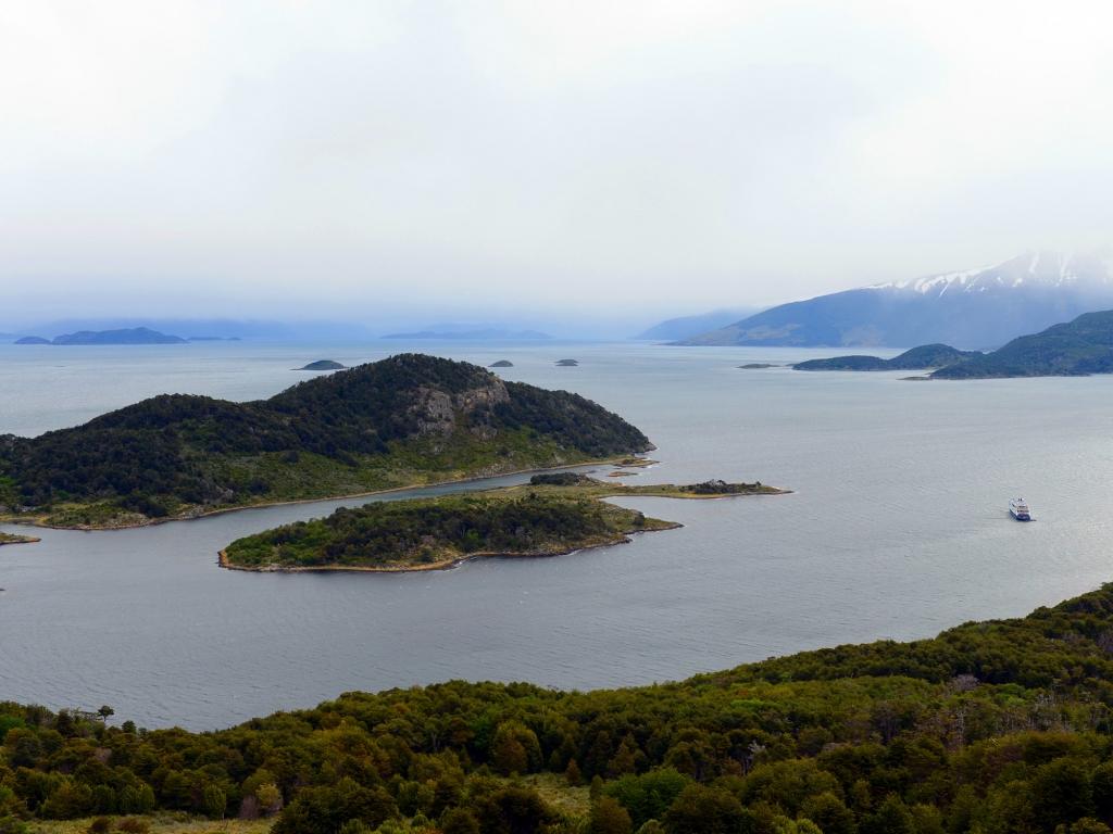 Du Cap Horn à la Baie de Wulaia