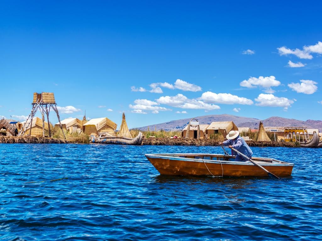 Isla del Sol et le lac Titicaca