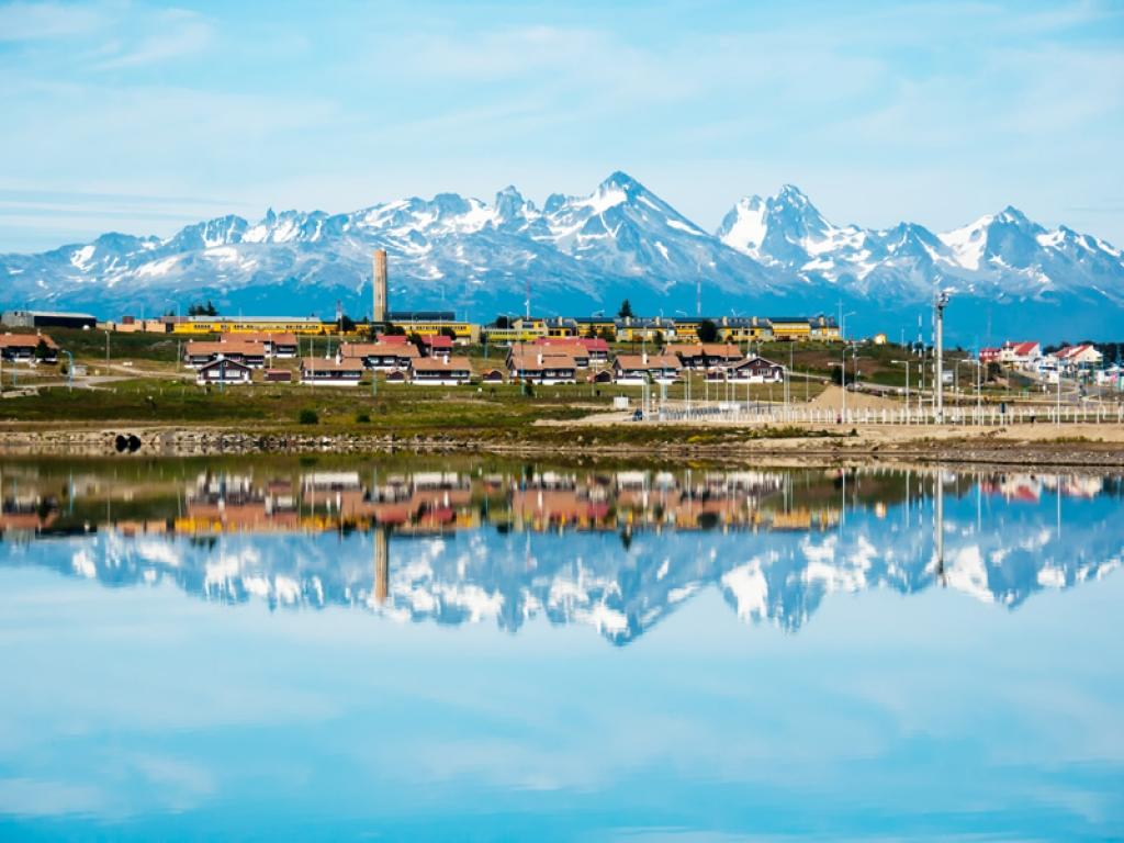 Ushuaia et le canal de Beagle