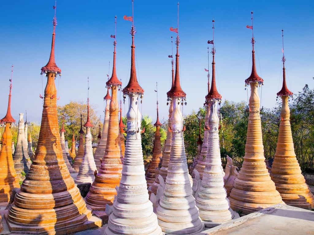Marchés et temples de Pakokku à Bagan