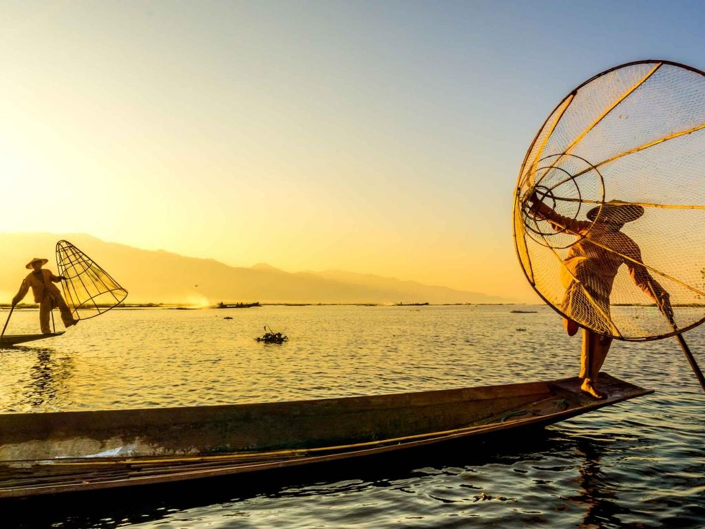 Avec les pêcheurs du lac Inle